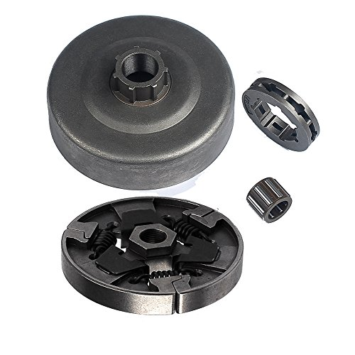 Clutch Drum Sproket Rim 3/8-7 Needle Bearing for STIHL 066 MS660 Chainsaw ()
