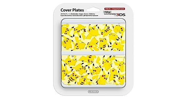 Amazon.com: New Nintendo 3ds Cover Plates No.057 PIKACHU ...