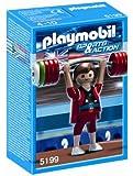 Playmobil 626725 - Olímpico Halterofilia