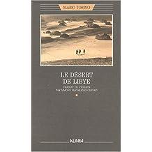 LE DESERT DE LIBYE