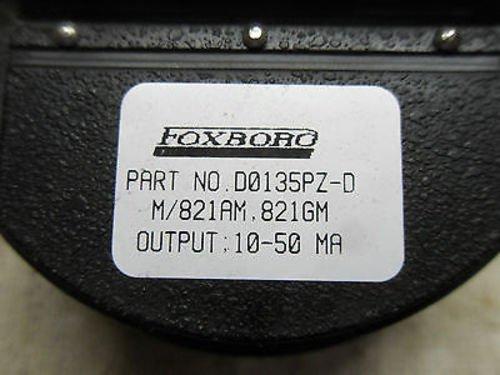 1 New Foxboro D0135Pz-D Pressure Transmitter (A9)
