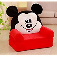Richberg01 Newly Kids Sofa Cum Bed (RED Micky Art)