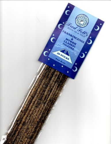 Fred Soll's Frankincense & Myrrh Classic Incense, 20 Sticks