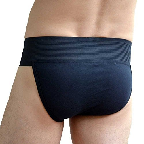 WILLMAX KD Cotton Gym Supporter Back Covered Cup Pocket Ultra Soft Black, Small