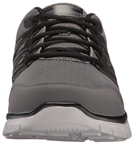 Skechers Skech Fitness Men's Advantage SHEAKS GYBK Trainers Flex af8waqz