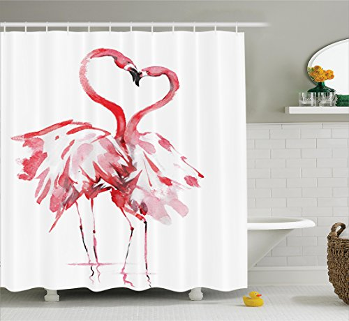Flamingos bathroom for Flamingo bathroom accessories set
