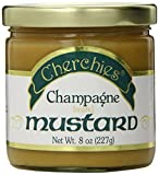 Cherchies Champagne Brand Mustard, 8 Ounce