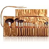 SHANY Cosmetics Urban Gal Collection Brush Kit (15 Piece Vegan Travel Brushes with Carry On Case)