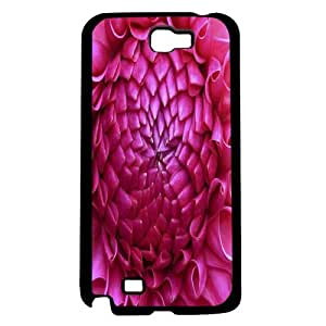 Close up Pink Torch Ginger Flower Hard Snap on Phone Case (Note 2 II)