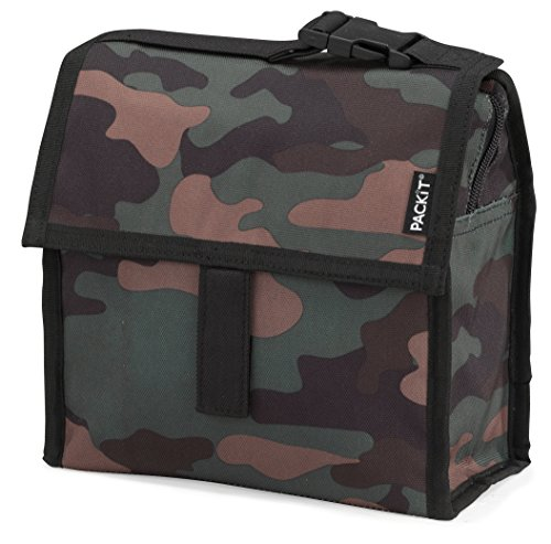 PackIt Freezable Mini Lunch Bag, Camo