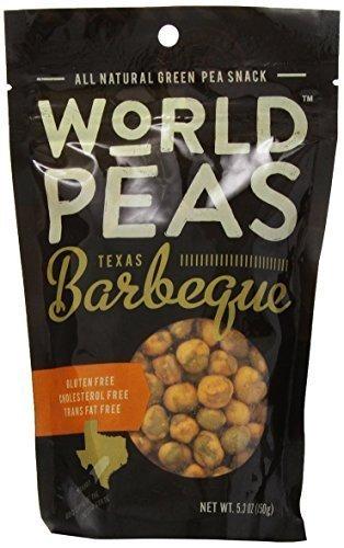 World Peas - World Peas Peas, Texas Bbq, 5.3 Oz, Pack Of 6 by World Peas