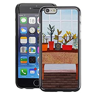 Planetar® ( Art House Indoor Vintage ) Apple iPhone 6 / 6S (4.7 inches!!!) Fundas Cover Cubre Hard Case Cover