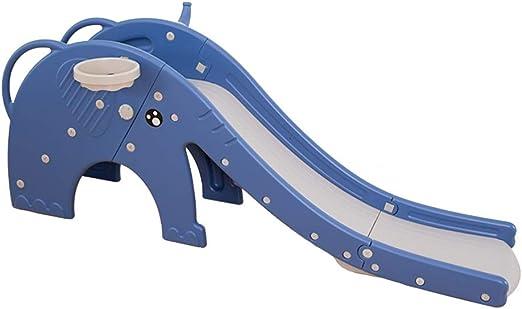 Toboganes para niños juguetes domésticos para interiores jardín de infantes juguetes de plástico muy saludables y seguros (Color : BLUE , Size : 195*42*74CM) : Amazon.es: Juguetes y juegos