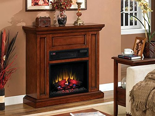 Infrared Oxfords (Oxford Infrared Wall Mantel in Premium Pecan Cherry 23IW1254-C253 MANTEL ONLY)