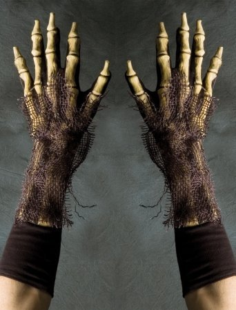 Halloween Gloves - Zagone Studios G1008 Full Action Survivor Gloves