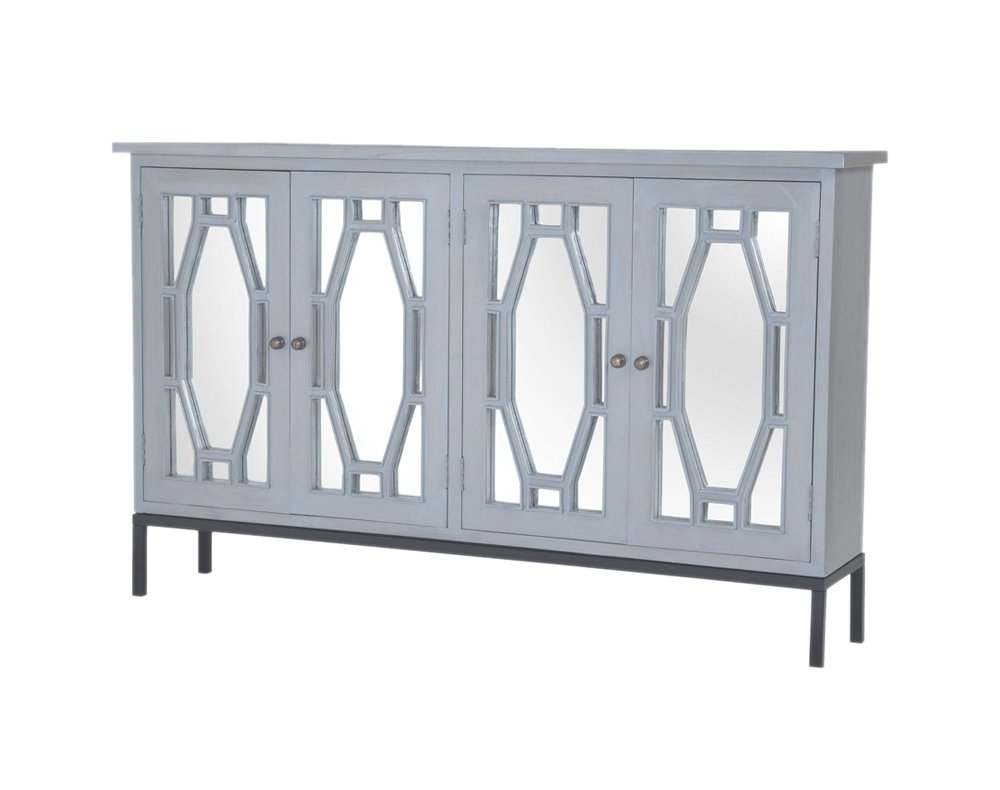 Sterling Presidio Storage Cabinet II in Gravesend Grey - Medium by Sterling