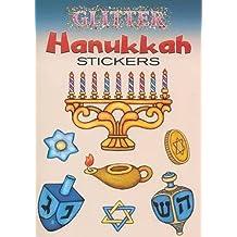 Glitter Hanukkah Stickers (Dover Little Activity Books Stickers)