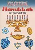 img - for Glitter Hanukkah Stickers (Dover Little Activity Books Stickers) book / textbook / text book