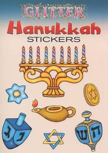 (Glitter Hanukkah Stickers (Dover Little Activity Books)