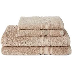 Charisma 100% Hygro Cotton 4-piece Bath Towel Set