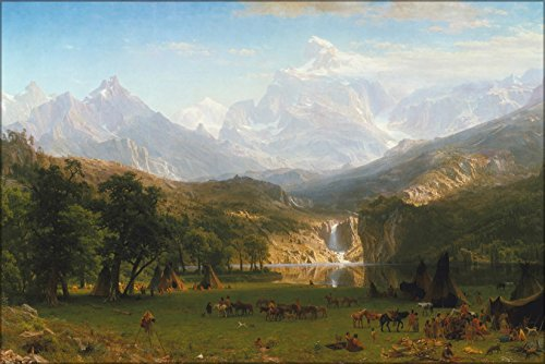 24x36 Poster; Albert Bierstadt - The Rocky Mountains, Lander'S Peak 1863