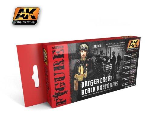 AK Interactive -Panzer Crew Black Uniforms   B00KACASY6
