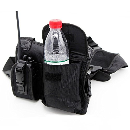 Abbree Radio Chest Harness Chest Front Pack Pouch Holster Ve
