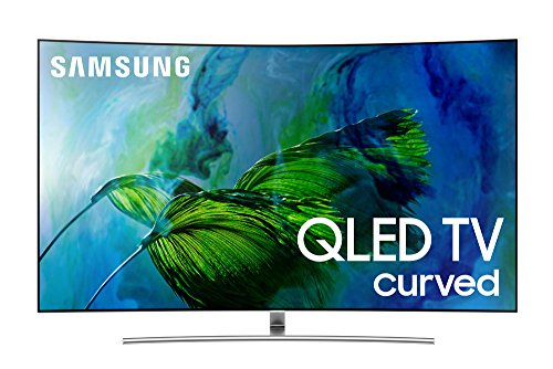 Samsung Electronics QN65Q8C Curved 65-Inch 4K Ultra HD Smart QLED TV (2017 Model)