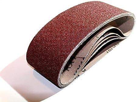 Tissu 10/bandes abrasives 75/x 457/Mixed Bandes abrasives pour ponceuse /à bande K40//60//80//120//180/gewebeverst/ärkt