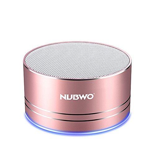 NUBWO Portable Bluetooth Speaker with Mic/Speakerphone AUX Line (Large Image)