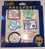 Disney Pin- Epcot Passport Pin Collectors Set 81169