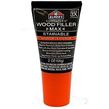Elmer S E887q Stainable Wood Filler 3 25 Ounce Wood