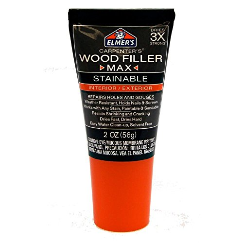 Elmers Wood Filler Max Stainable 2 oz.