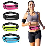 Iphone Running Belt – Running Fanny Pack, Waist Pack Running Belt, Waterproof Running Belt Pouch for iPhone 7 Plus, iphone 7, iPhone 6, Samsung Galaxy S8 / S7 And More ( Hot Pink ) Review