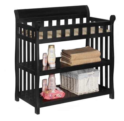 Delta Children Eclipse Changing Table, Black