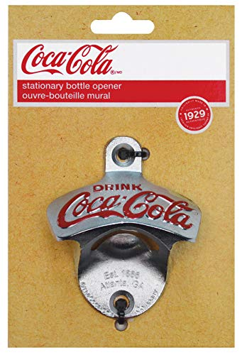 - TableCraft Coca-Cola Wall Mount Bottle Opener (CC341)