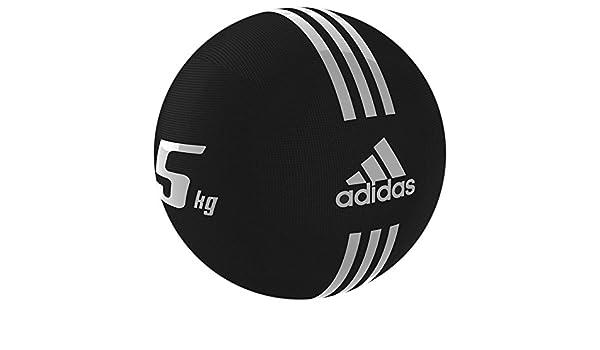 adidas – Balón Medicinal de Gimnasia Fitness Peso Ball Negro 5 Kg ...