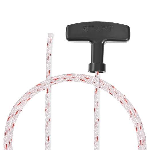 sourcing map Cuerda Arranque con Cable Poliéster para Pieza ...