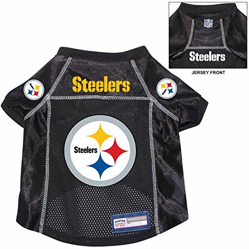 Pittsburgh Steelers Pet Dog Football Jersey Alternate XL