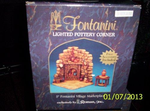Nativity Pottery Figurine Set - 8