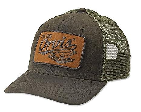 Amazon.com   Orvis Upland Wax Trucker Cap 8cdcaa98d78