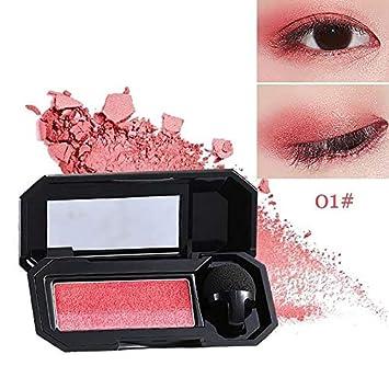 Amazon com : Double Color Shimmer Eyeshadow Nude Eye Color Makeup