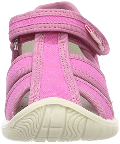 Rose Ouvertes Naturino Fuxia Fille Sandales 9105 7785 qwZZ1I4