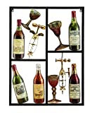 Deco 79 Metal Wine Decor Shows Style of Life