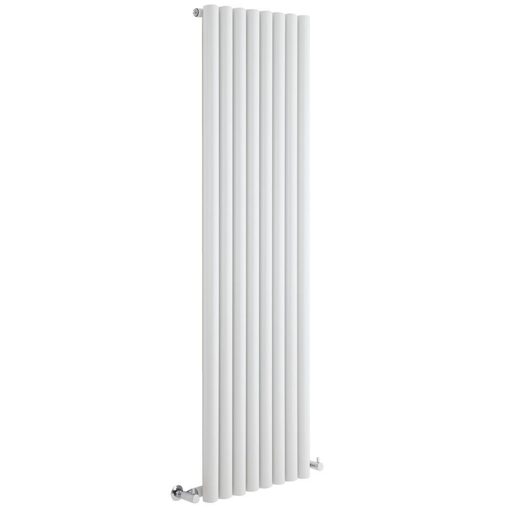 Milano Java - Anthracite Vertical Round Tube Designer Radiator 1600mm x 354mm - Vertical Tube Luxury Central Heating Radiators