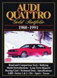 Audi Quattro, 1980-91 Gold Portfolio, R. M. Clarke, 1855203030