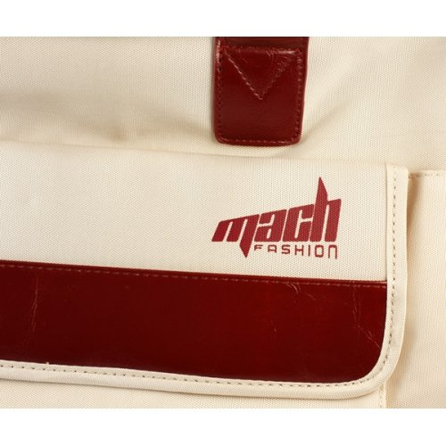 Mach Power Z057–Funda (39,62cm (15.6), Aktenkoffer, Beige, Rot)
