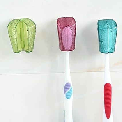 Portátil para cepillo de dientes con ventosa, chartsea 3pcs portátil con ventosa cepillo de dientes