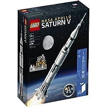 LEGO Ideas Nasa Apollo Saturn V 21309 Building Kit (1969 Piece)