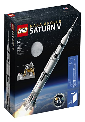 - LEGO Ideas Nasa Apollo Saturn V 21309 Building Kit (1969 Piece)